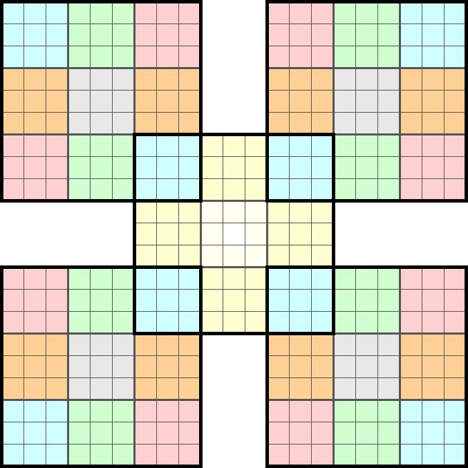 Pdf t l charger nonc grille sudoku samourai avec coordonn es sym trique niveau d butant - Grilles de sudoku vierges ...