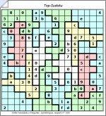 Grilles hexadoku sudoku 16 x 16 irr gulier imprimer - Plusieurs grilles de sudoku a imprimer ...